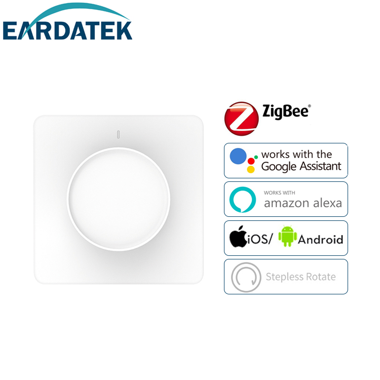 Rotary dimmer switch ZigBee Neutral reqiured EU