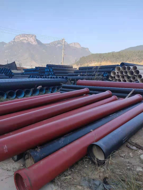 福建融通管業有限公司銷售代理的污水球墨鑄鐵管和給水球墨鑄鐵管應用于中流砥柱商務中心項目建設之中