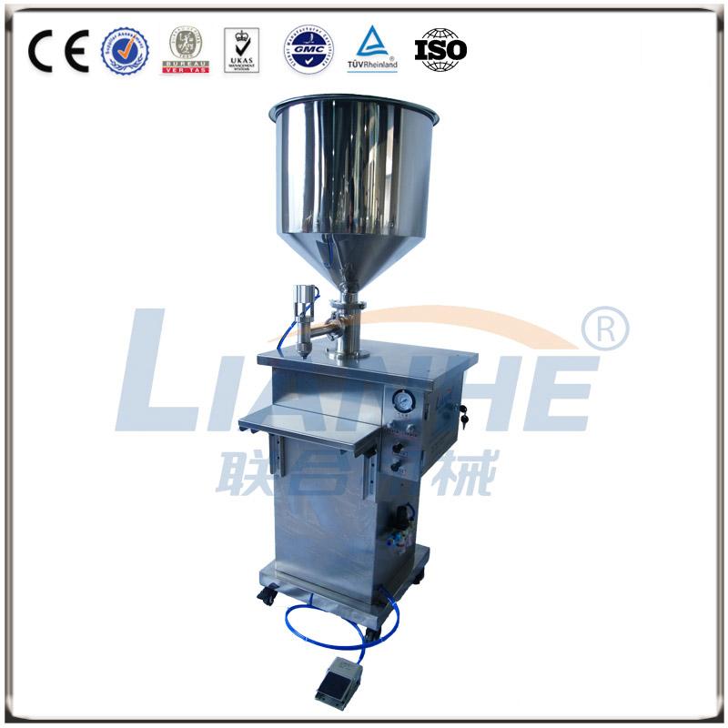立式膏体专用灌装机(高档型)