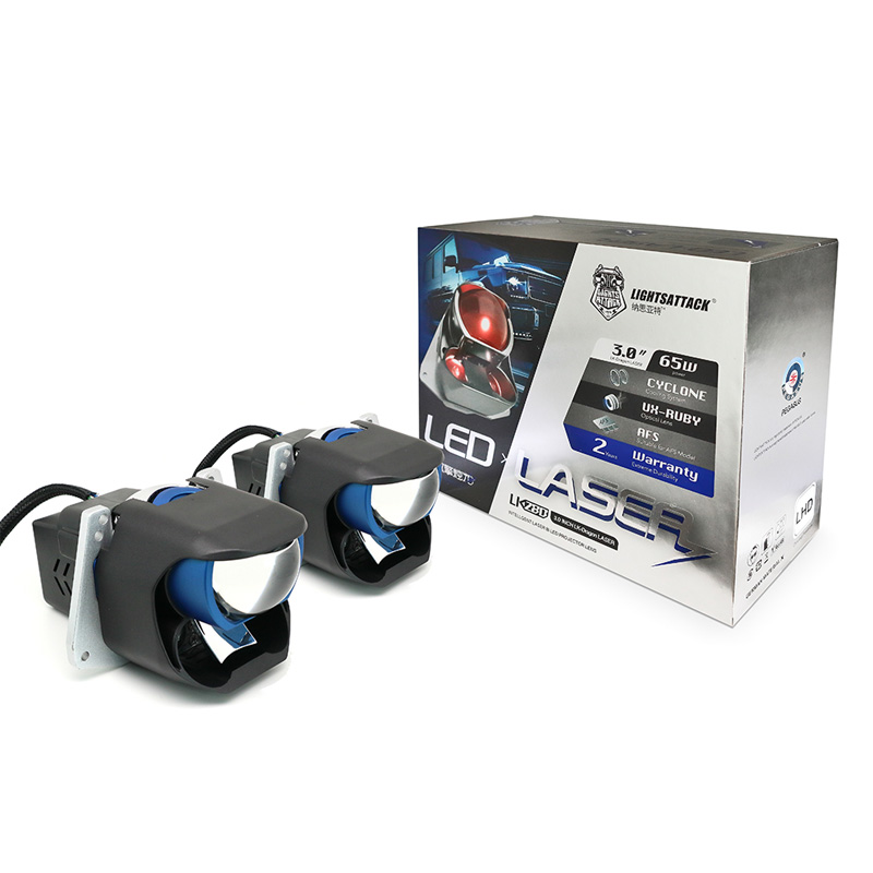 bi laser&led projector headlight