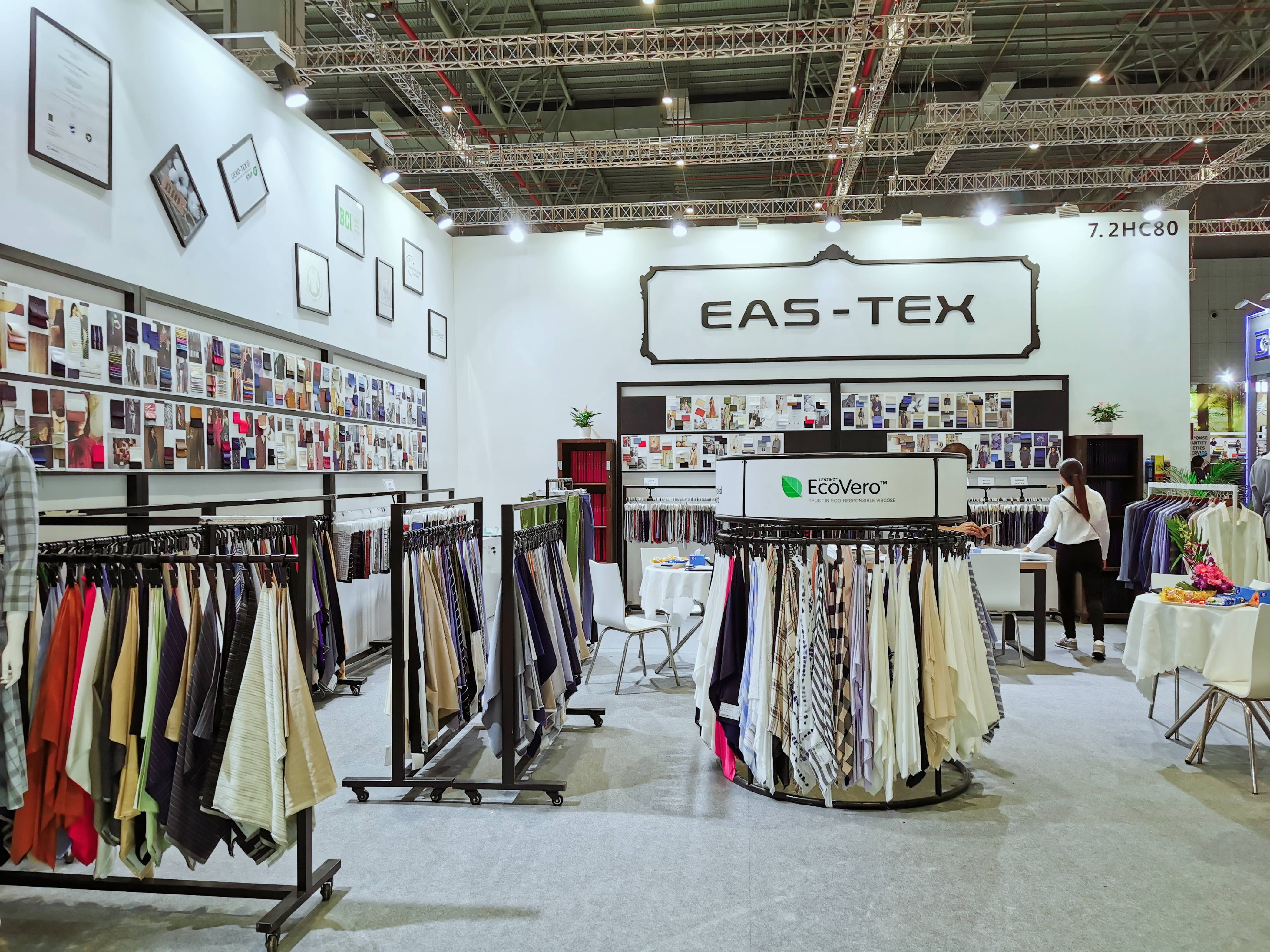 BOOTH IN INTERTEXTILE SHOW, 2020
