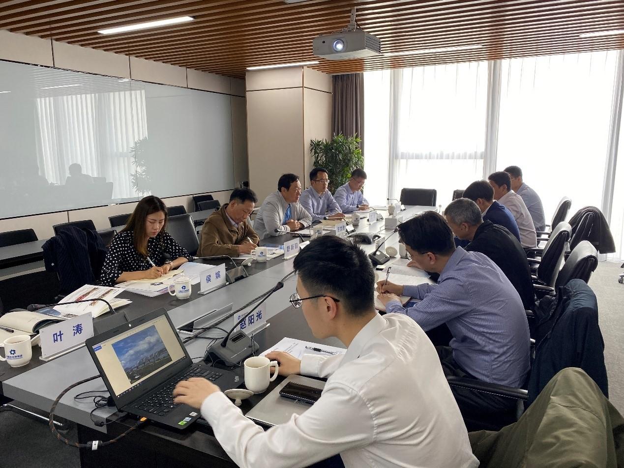 深化戰略合作 共謀創新發展 百靈天地王文勝董事長率隊赴中國水環境集團調研交流