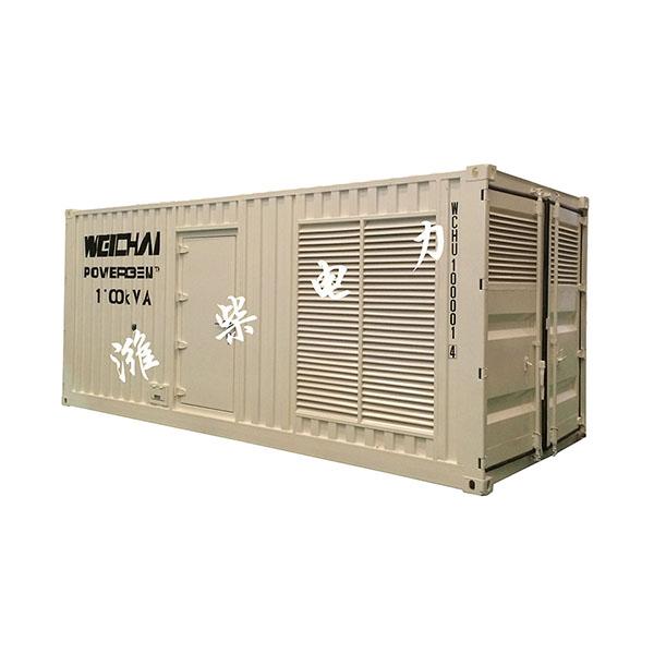 2750KVA方艙發電機組-濰柴發電機-玉柴發電機