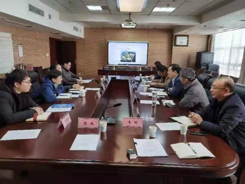北矿大(南京)新能源环保技术研究院受邀访问南京市水务局