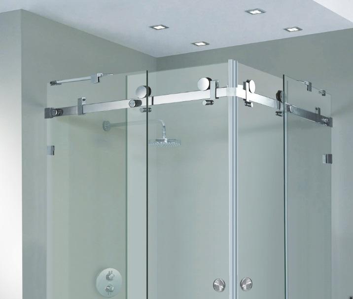 Frameless Shower Door Serenity Sliding Door