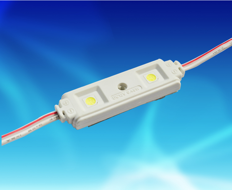 MPW140A,4815兩燈5050貼片PVC注塑防水模組 DC12V