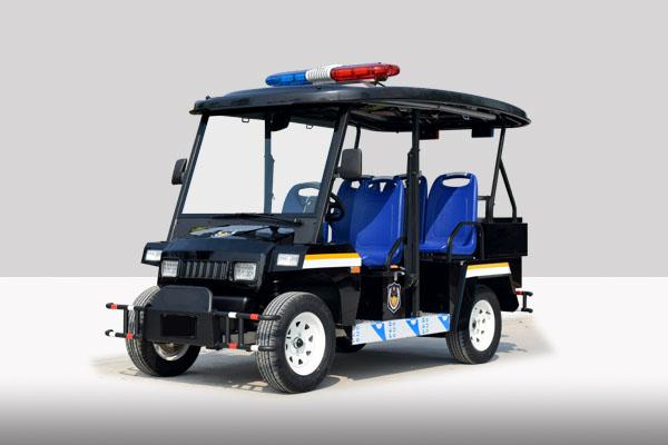 五座黑色电动巡逻车(G1P5)