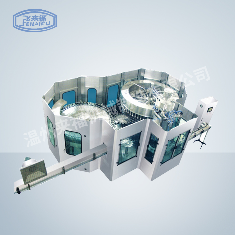 JR50-50-12 20000B/H 沖瓶灌裝旋蓋三合一機組