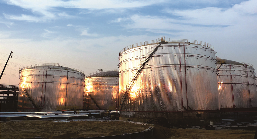 漳州市古雷海腾码头液体化工罐区工程