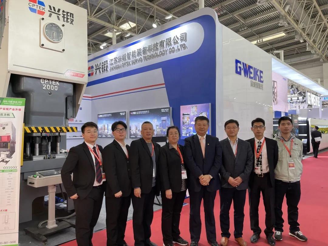 CPTEK-興鍛品牌精彩亮相第17屆中國國際機床展