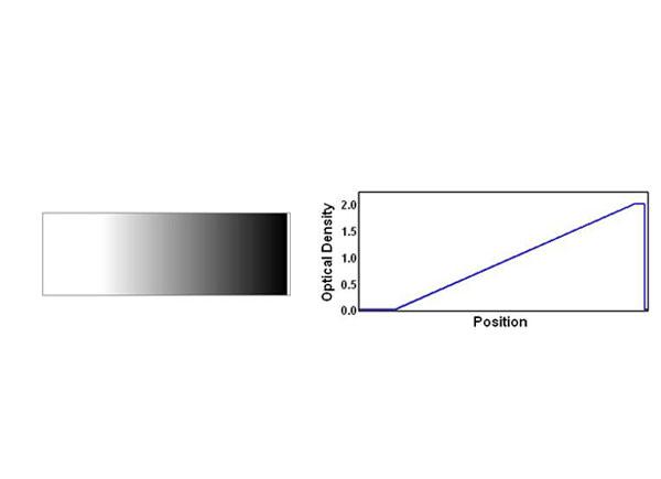 條形漸變中性密度濾光片