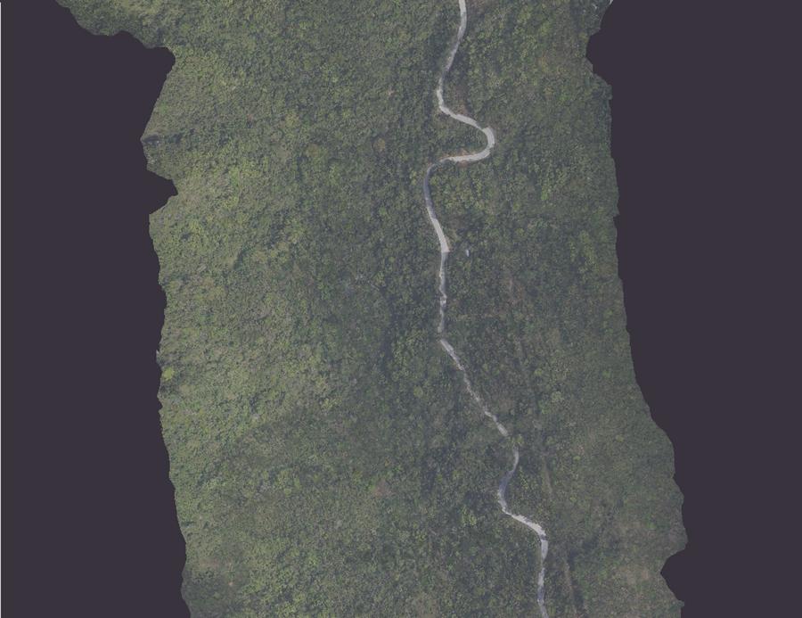 海南省五指山盤山公路項目