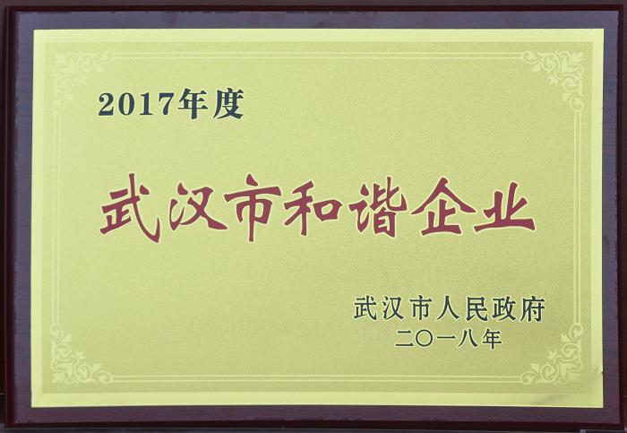 武汉市和谐企业