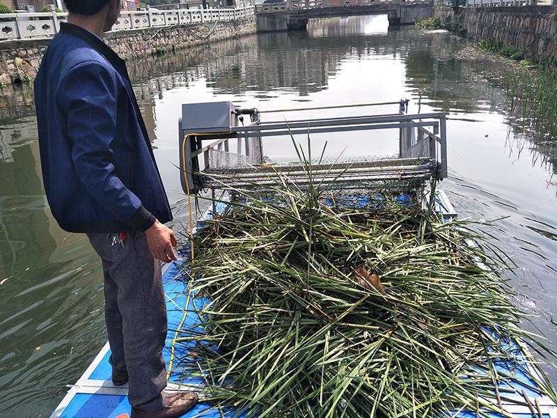 北京某環保公司市內護城河管理