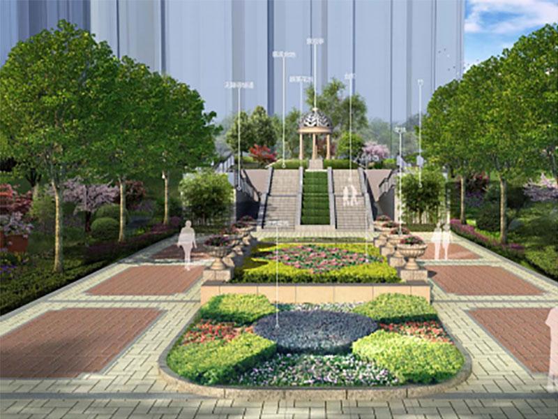 延安新區棚戶區西地塊景觀概念方案設計