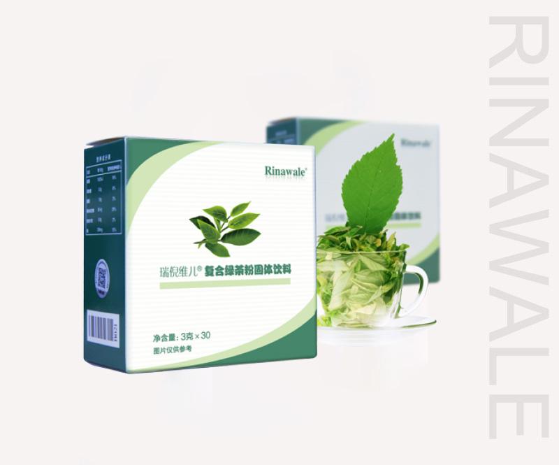 復合綠茶粉固體飲料