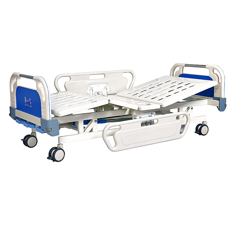 Three cranks manual type hospital bed