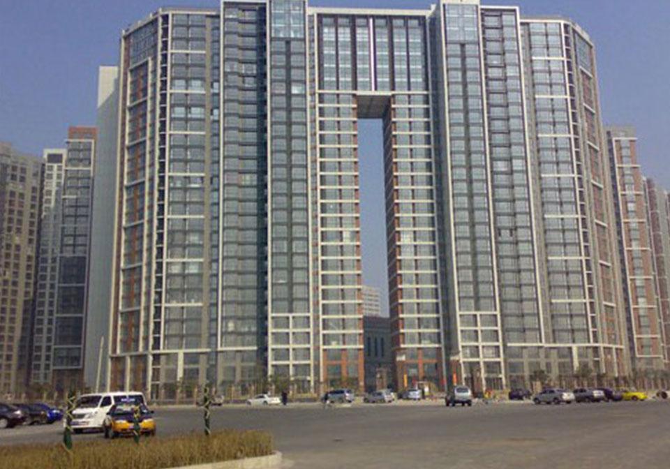 望京新城住宅樓工程