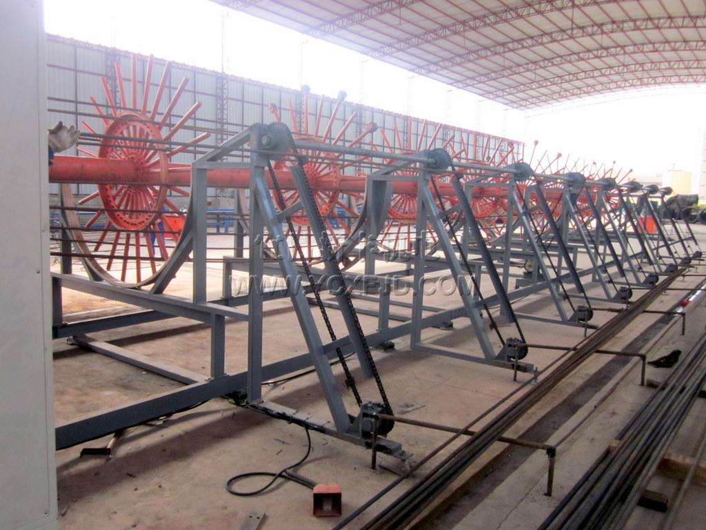 鋼筋籠成型機——廣州市裕豐建筑工程機械制造有限公司