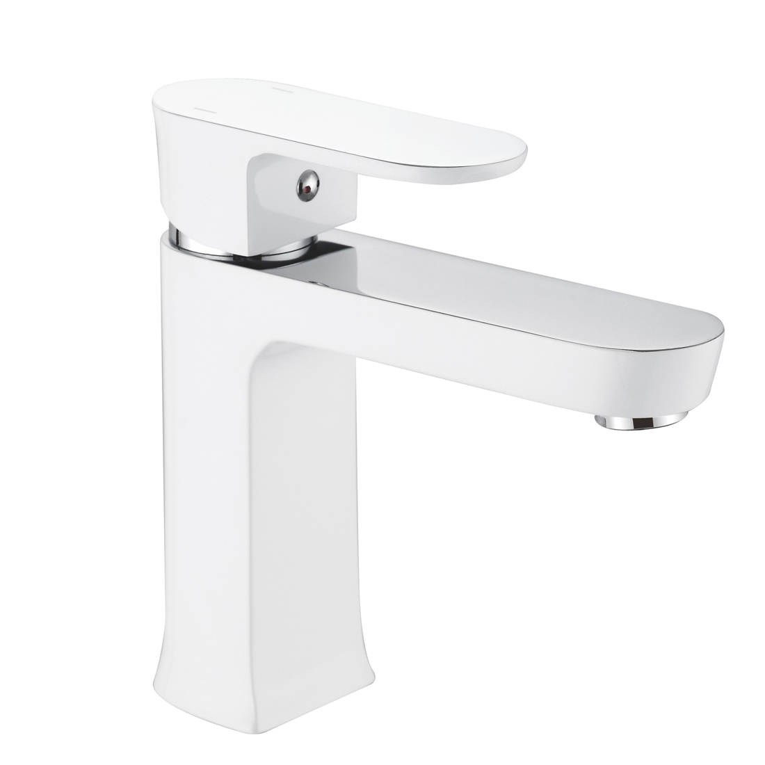 FLG White Bathroom Faucet