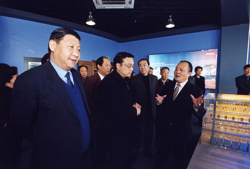 中共中央总书记、国家主席习近平,国务院总理李克强,曾于2003年12月视察企业。