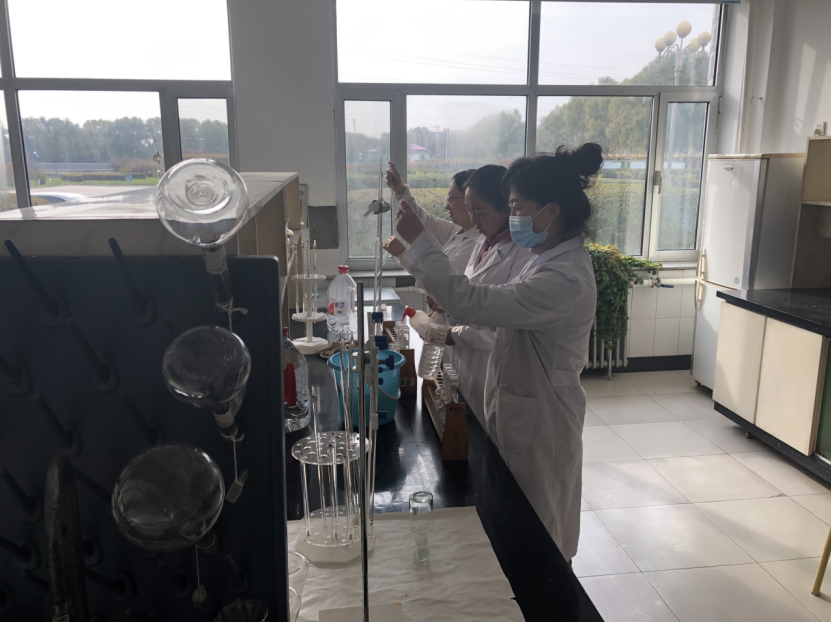 牡丹江污水處理廠開展化驗員技術比武大賽