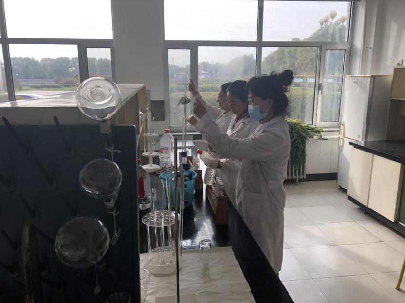 牡丹江污水处理厂开展化验员技术比武大赛
