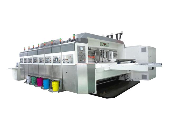 K7-型電腦控制水性印刷開槽模切機(下?。糊X輪傳動 伺服驅動)