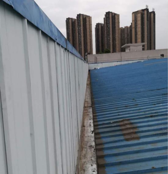 屋顶天沟防水