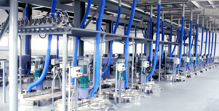 1+2+3 Coating Production Line