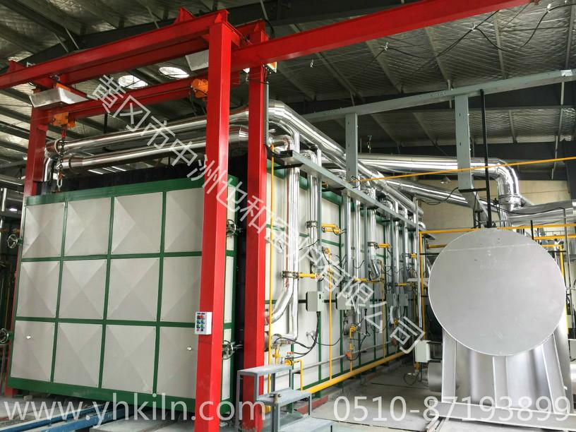 63m3蜂窩陶瓷隧道窯