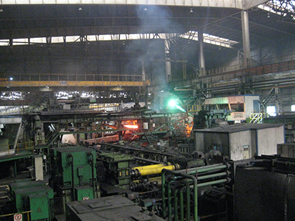 Continuous rolling mill of seamless steel pipe