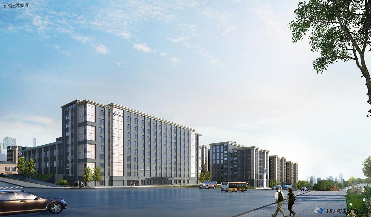 北斗星通智能產業園施工總承包工程(在建)