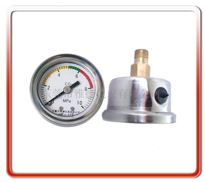 40MM軸向耐震油壓表