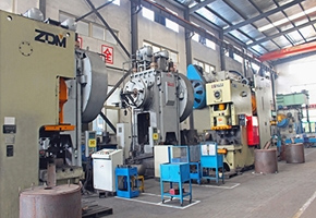 Hot forging production line