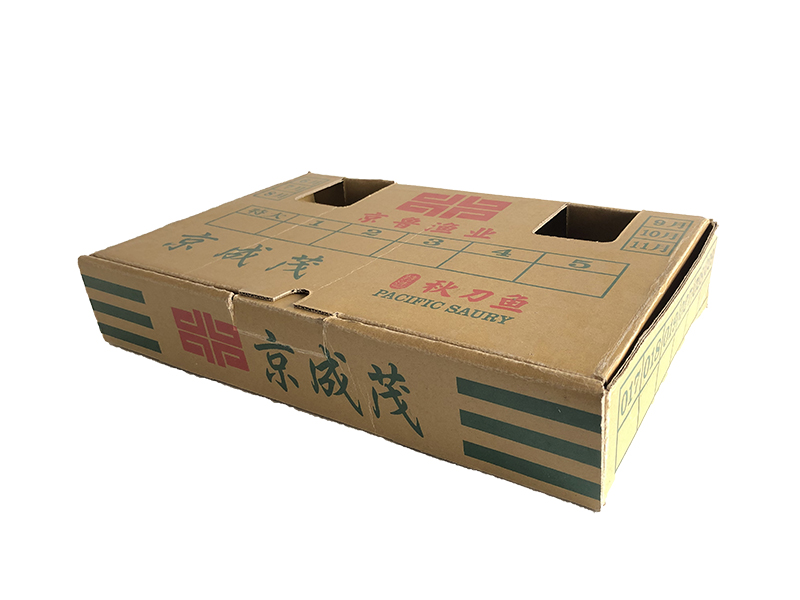 秋刀鱼涂蜡纸箱