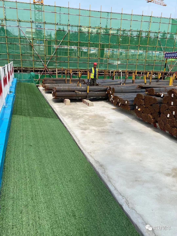 威海市委书记张海波莅临世纪体育公园地下停车场项目视察指导