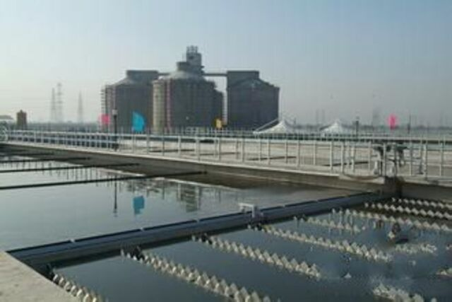 图七:西安第四污水处理厂阀门应用 环保行业应用