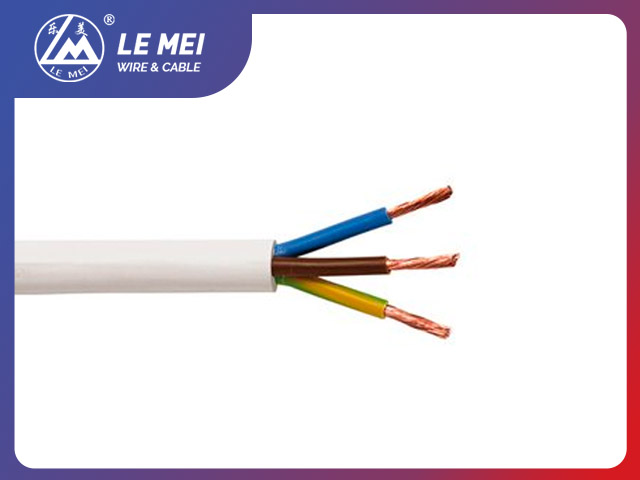 PVC Wire H03VV-F With DIN VDE Standard