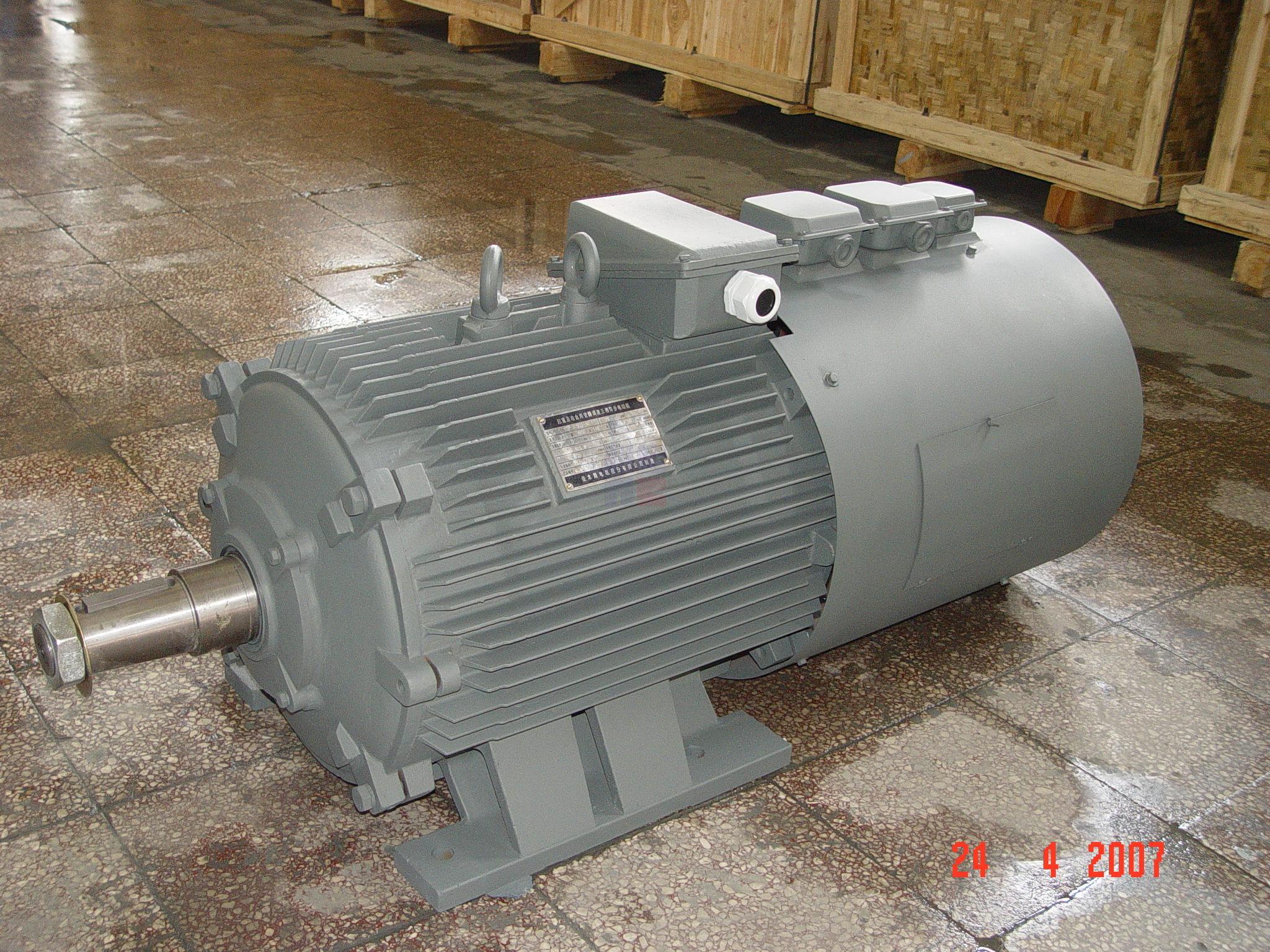 YZP系列起重及冶金用变频调速三相异步电动机(机座号112-400)