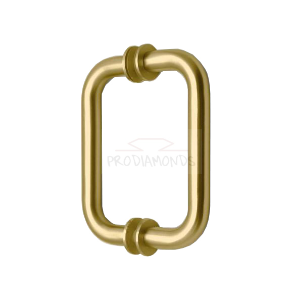 Satin Gold Frameless Shower Door Pull Handle