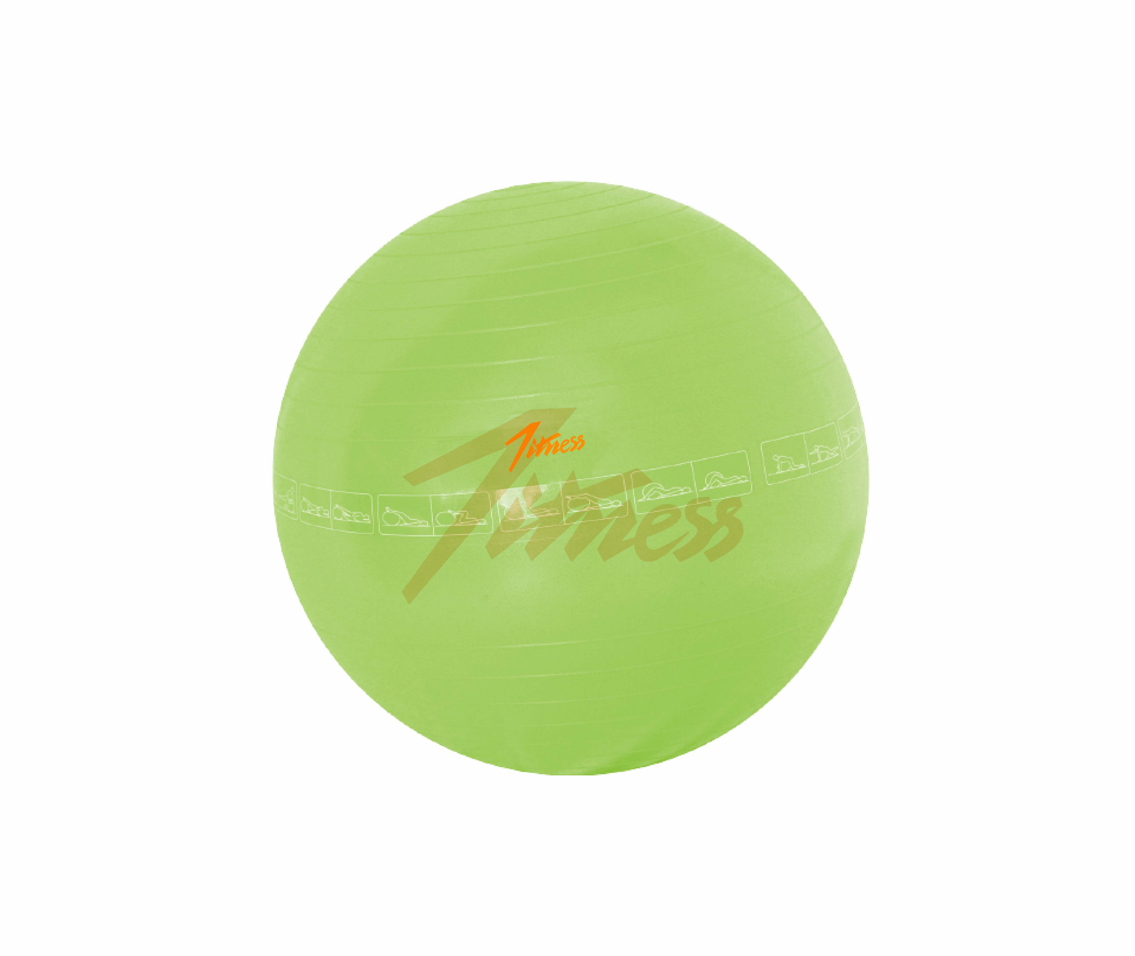 ANTI-BURST GYM BALL WITH PATTERNS