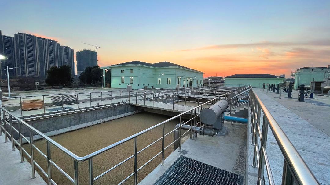 無錫城北污水處理廠250,000m3/d氣浮提標