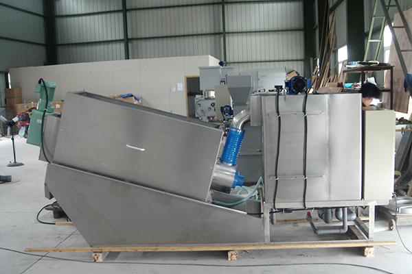 ST系列疊螺式污泥濃縮機