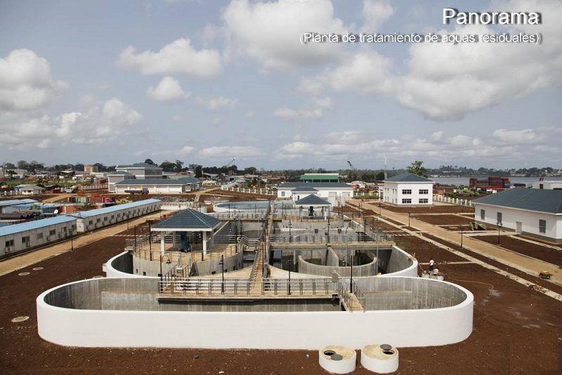 赤道几内亚马拉博城市污水管道网及污水处理厂工程