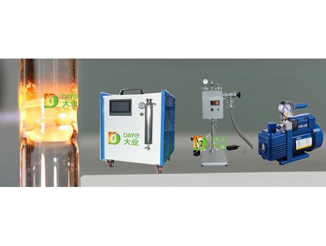石英玻璃管封口機  大業能源 (2)