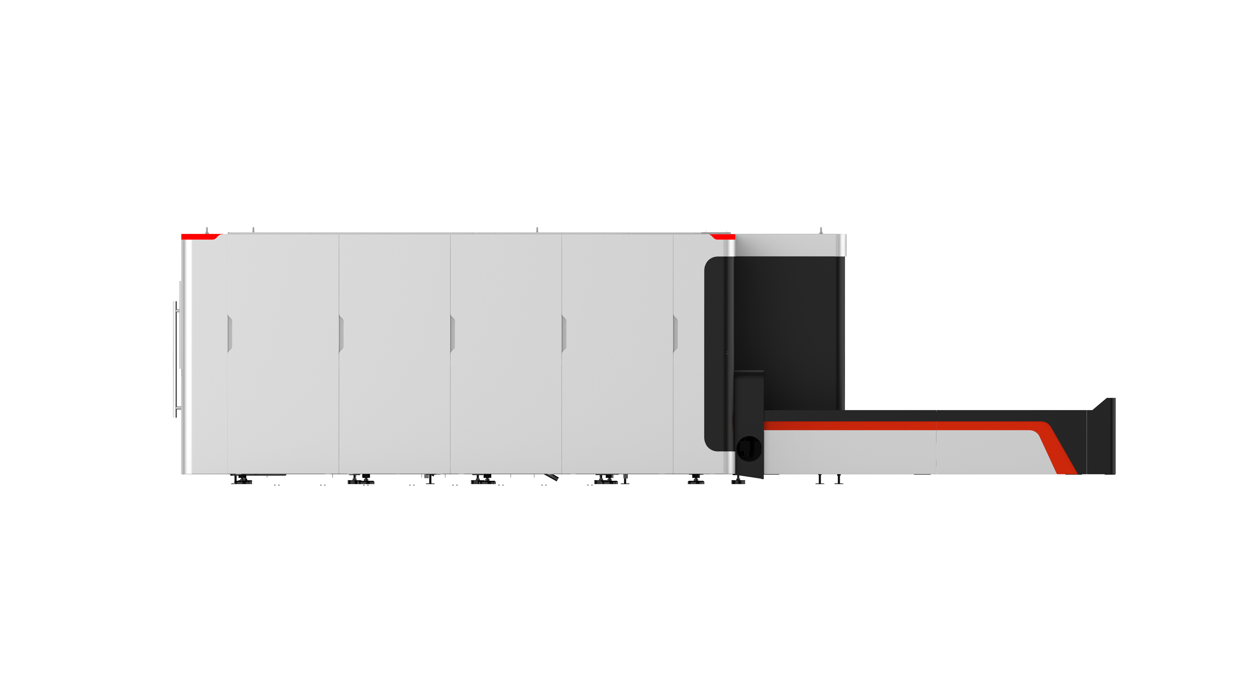 GT系列全封闭交换平台管板一体