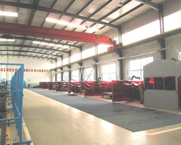 軌道產品焊接車間