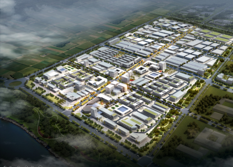 富平縣食品產業園總體規劃設計