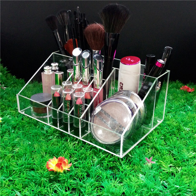有機玻璃合肥廠家定制筆架化妝品亞克力架